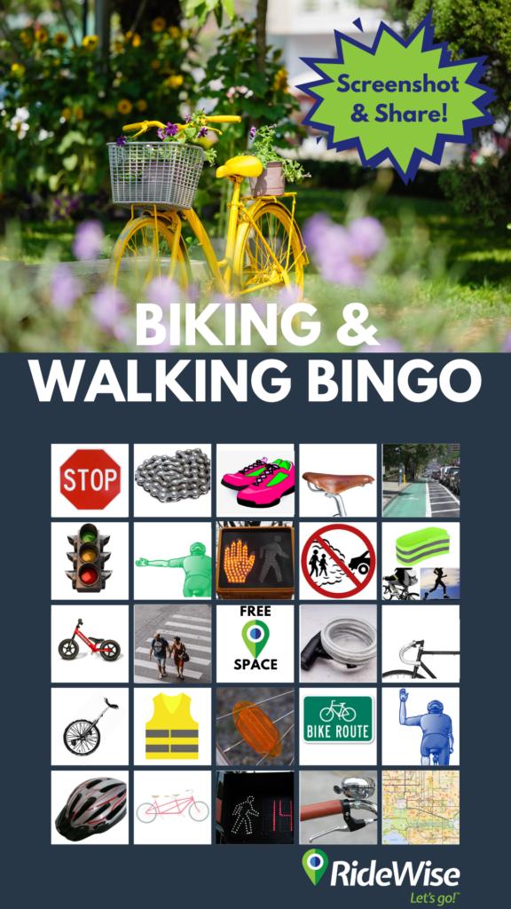 A bingo sheet