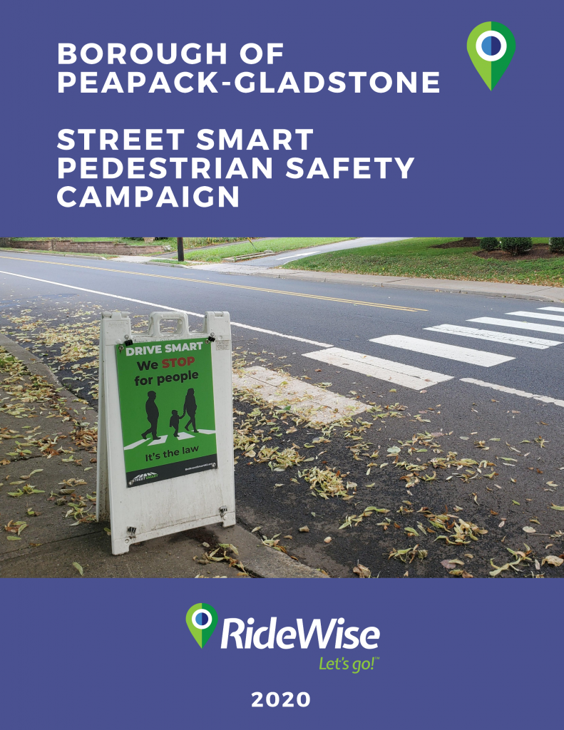 Peapack-Gladstone Street Smart Report Cover