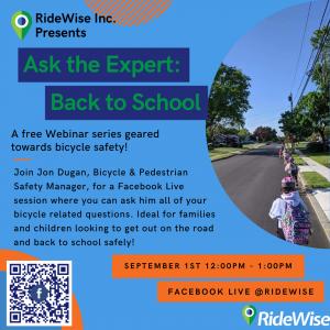 Ask the Bike Expert flyer